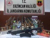 Erzincan'da kaçakçılık operasyonu