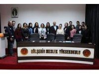 """Gülşehir MYO'da """"Dünya AIDS Günü"""" konulu bilgilendirme konferansı"""
