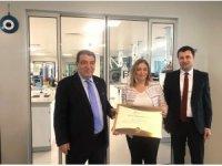 Berko İlaç Ar-Ge merkezi belgesini aldı