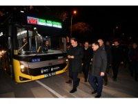 76 SM Sahil, Kavaklı, Güzelyurt metrobüs hattı hizmete açıldı