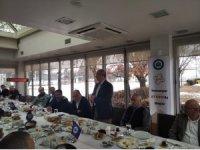 Üniversite ve sanayi temsilcileri ETTOM'un düzenlediği kahvaltıda buluştu