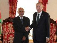 Cumhurbaşkanı Erdoğan Afganistan Cumhurbaşkanı Eşref Gani ile görüştü