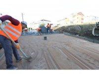 Çayırova'da sokaklar parke ile kaplanıyor