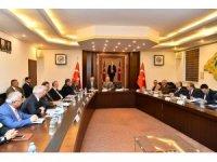 Isparta'da Karayolları Kış Önlemleri Toplantısı
