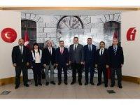 Rektör Çomaklı, Eskişehir Vergi Dairesi Başkanlığını ziyaret etti