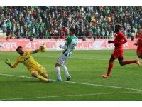 Gaziantep FK ilk kez kalesini gole kapattı