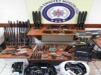 Aydın'da yasadışı silah ticaretine büyük darbe