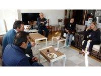 Özgecan Aslan'ın ailesi Ceren Özdemir'in evinde