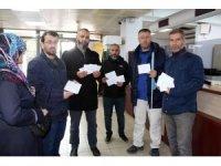 Yalova'dan Mısır'daki tutuklulara mektup gönderdiler