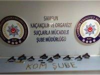 Samsun merkezli silahlı kaçakçığı operasyonu: 13 gözaltı
