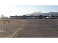 Çardak Havalimanı'nda 601 bin 287 yolcuya hizmet verildi