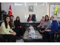 Öğrencilerden Başkan Pekmezci'ye ziyaret