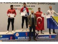 Wushu Kung Fu Şampiyonası'ndan Bartın Üniversitesine altın madalya