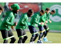 Giresunspor'da Erzurumspor maçı hazırlıkları başladı