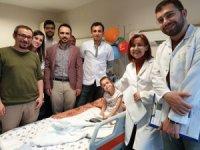 Giresun'da ilk kez anestezi altında ve ultrasonografi eşliğinde serebral palsi ameliyatı yapıldı
