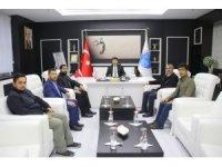 HÜDAPAR Kilis İl Yönetimi Rektör Karacoşkun'la bir araya geldi