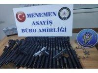 İzmir'de silah kaçakçılığı operasyonu: 1 gözaltı