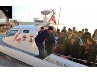 Ayvalık'ta 39 düzensiz göçmen yakalandı