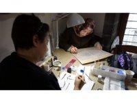 Trabzon'da ilk kez açılan 'Hüsn-i hat' sanatına bayanlardan ilgi