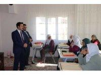 Kaymakam Fırat'tan Kuran Kursları'na ziyaret