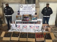 Kayseri'de yılbaşı öncesinde 'kaçak' alkol operasyonu: 1 gözaltı