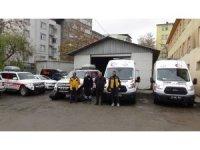 Muş 112 Acil Servis ekipleri kışa hazır