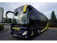 Fenerbahçe yeni otobüsünü teslim aldı