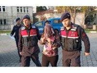 Uyuşturucudan hapis cezası bulunan genç kız tutuklandı