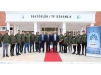 TÜBİTAK Daire Başkanı Çengelci'den SUBÜ'ye ziyaret