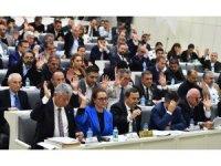 Mecliste gündem gökdelen projesi