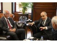 Baro Başkanı Mehmet Durakoğlu'ndan Başkan Akgün'e ziyaret