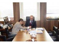 Milletvekili Taşdoğan'dan Karayolları Genel Müdürüne ziyaret