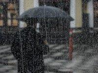 Antalya'ya son 24 saatte 150 kilogram yağış düştü