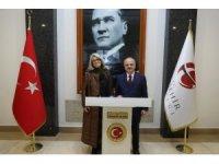 Vali Çakacak, Portekiz'in Ankara Büyükelçisi Silva'yı kabul etti