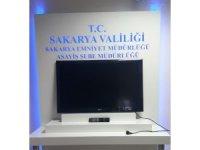 Sakarya'da televizyon ve aparatlarını çalan şahıs tutuklandı