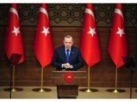 """Cumhurbaşkanı Erdoğan: """"En kısa zamanda ihalesini yapmak suretiyle Kanal İstanbul'a başlayacağız."""""""