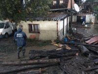 Büyükşehir'den Datça'da ki su baskınlarına anında müdahale