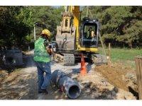 Ula'nın kanalizasyon çalışması tamamlandı