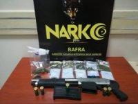Bafra'da uyuşturucu operasyonu: 2 gözaltı