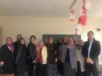 Güdüllü köyünde 'Kadın Giyim Modelist Yardımcısı' kursu açıldı