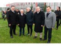 Vali Çakacak ve Rektör Çomaklı'dan Eskişehirsporlu futbolculara ziyaret