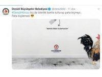"""120 bin dolarlık muza """"Horozlu"""" gönderme"""