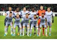 UEFA Avrupa Ligi: B. Mönchengladbach: 1 - Medipol Başakşehir: 1 (İlk yarı)