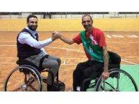 ASKON Diyarbakır Şube Başkanı Nasıranlı, engelli sporcuların sorunların dinledi