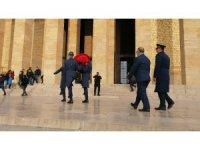Ahıska Türklerinden Anıtkabir'e ziyaret