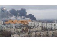 Rusya'da sanayi sitesinde büyük yangın
