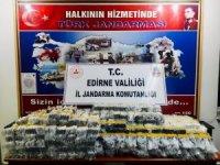 Yunanistan'dan ülkeye 4 bin 250 adet cep telefonu sokarken yakalandı