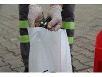 Hendek'te 450 kilogram atık pil toplandı