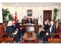 Üniversite öğrencileri Vali Aykut Pekmez'e ziyaret