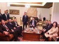Hazine ve Maliye Bakanı Albayrak, Nevşehir Belediyesi'ni ziyaret etti